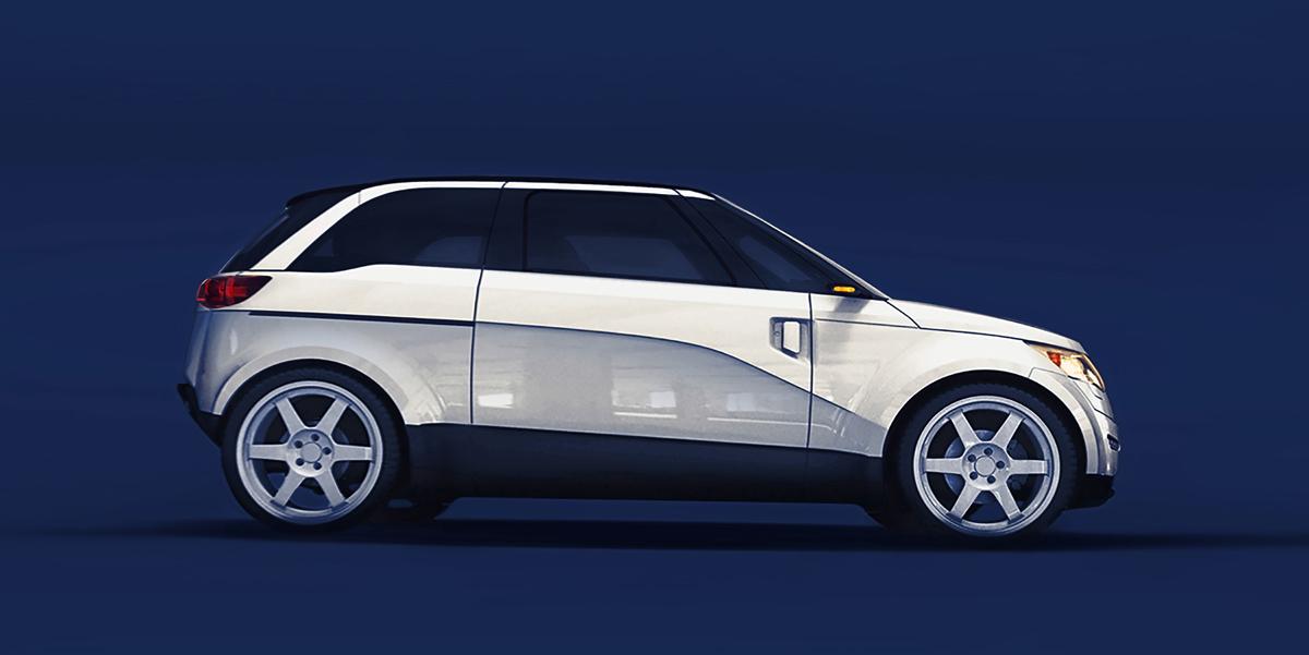 Miejski samochód elektryczny ELV001-PB-EXEON